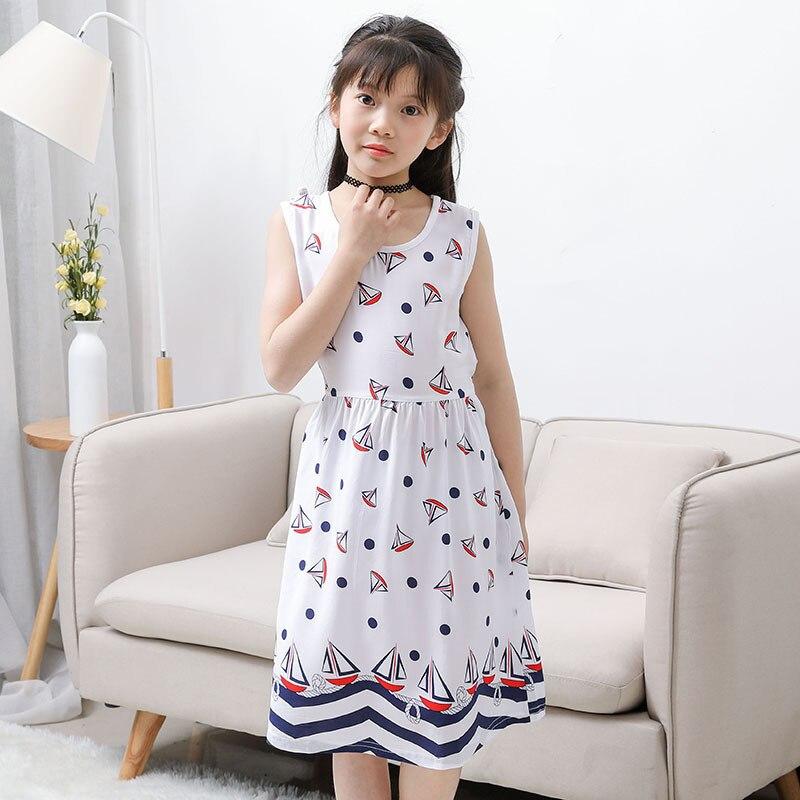 Girls Summer Dress Kids Clothes 2018 Brand Baby Girl Sukienka z - Ubrania dziecięce - Zdjęcie 2