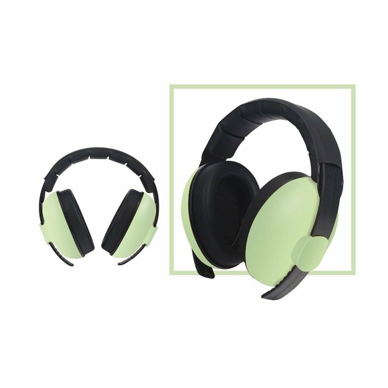 Baby Adjustable Headset Ear Noise Cancelling Toddler Hearing Earmuff Protection