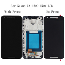 "5.2""For LG nexus 5X H791 H790 LCD Display Glass Touch Screen with Frame Repair Kit Replacement digitizer+Free Shipping Tools"
