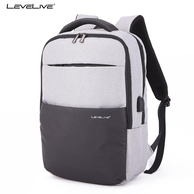 Men, Laptop, Rucksack, USB, Backpack, Waterproof