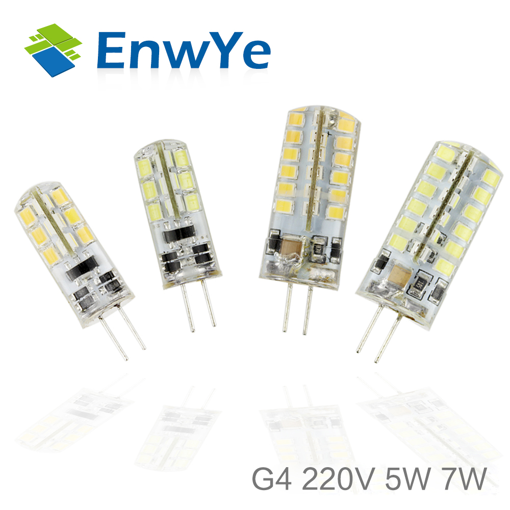 G4 LED 12V DC/AC 5W 7W Led Lamp LED Bulb 2835SMD 24LED 48LED lamp 360 Beam Angle LED spot light warranty g4 led lamp 12v ac dc smd3014 3w 5w 6w 24led 48led replace 20w 30w 40w halogen lamp 360 beam angle led bulb smd 2835