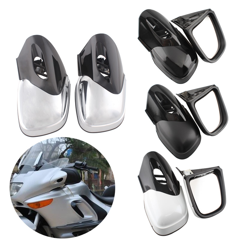 Motorcycle Rearview Mirror Front Fairing Mount Mirrors For BMW K1200 K1200LT K1200M 99 08