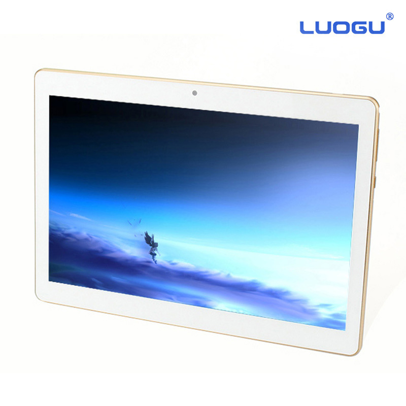 Original LUOGU T9 10 Quad Core 3G phone call Tablet Android 4 4 32GB Phablet Pad