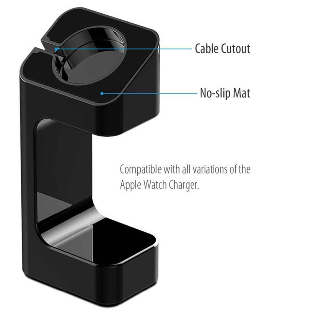 מטען stand עבור אפל שעון 4 44mm 40mm iwatch להקת 42mm/38mm אלחוטי תמיכת מטען stand אפל שעון 3 2 1 אביזרי