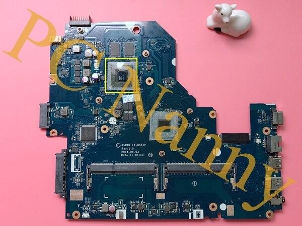 A5wam la-b981p rev 1.0 para acer aspire e5-511 e5-511g laptop motherboard nvidia geforce 820 m placa gráfica 2 gb ddr3l