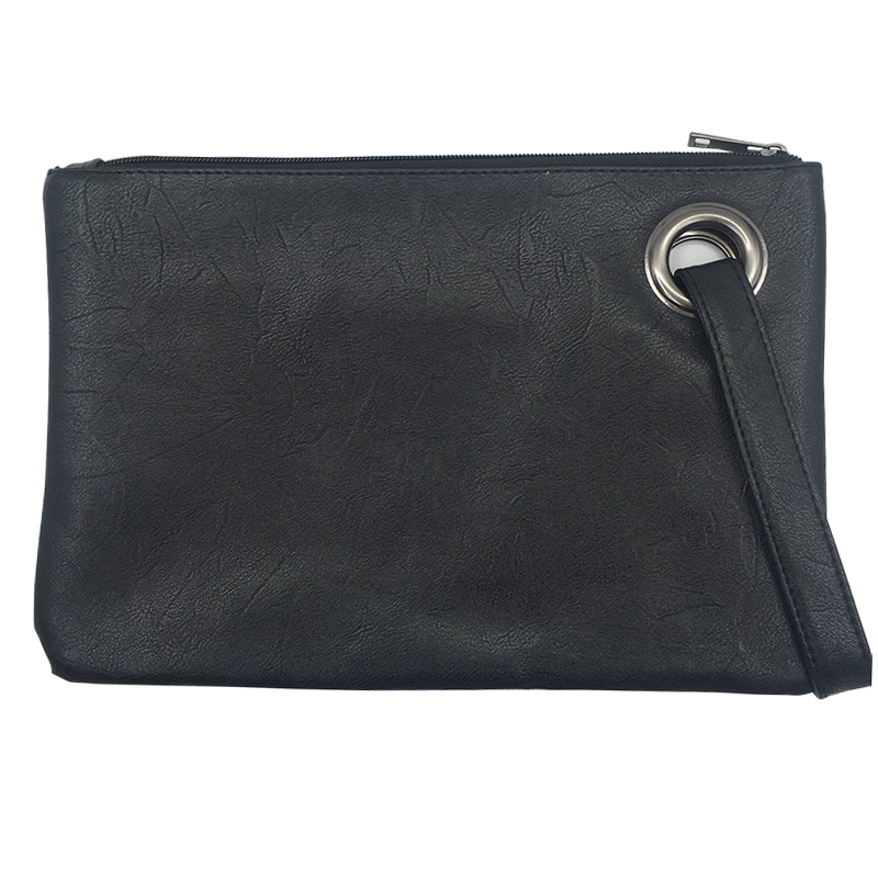 Fashion Solid Women's Clutch Bag Leather Women Envelope Bag Clutch Evening Bag Female Clutches Handbag Immediately Shipping B012