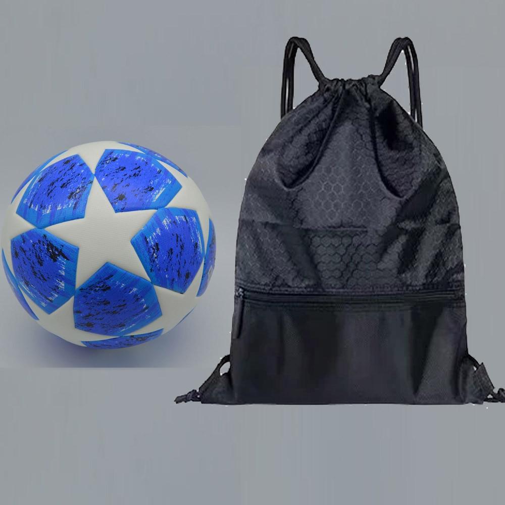 Champions League Soccer Ball Red Madrid 19 Final Balls PU high grade seamless paste skin football ball Size 5