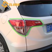 4Pcs/Set Car Rear Lights Trim for Honda Vezel HR V HRV 2014 2015 2016 2017 2018 ABS Chrome Back Light Cover Sticker Accessories
