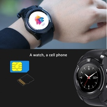 1.22 inch V8 Smart Watch With Sim Card Bluetooth TF Slot suitable for iPhone for Android Smartwatch Camera WristWatch