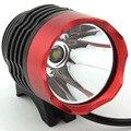 2 in 1 1800 Lumens CREE XM-L T6 LED Bicycle Bike Light Headlight headlamp Light Flashlight + Battery 6400mah & Charger