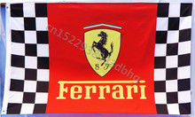 Ferrari Flag 90*150cm60*90cm Size Polyster arty Banner Indoor and Outdoor A decorative banner flag