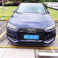 A4 Sline S4 ECS стильный передний спойлер из углеродного волокна для Audi A4 SLINE S4 B9