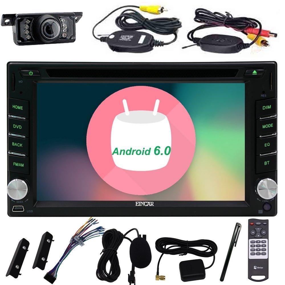 Car DVD gps autoradio Android 6.0 Universal Car Multimedia Player 2 Din Quad Core Headrest Radio DVD Touch Screen Steering Wheel