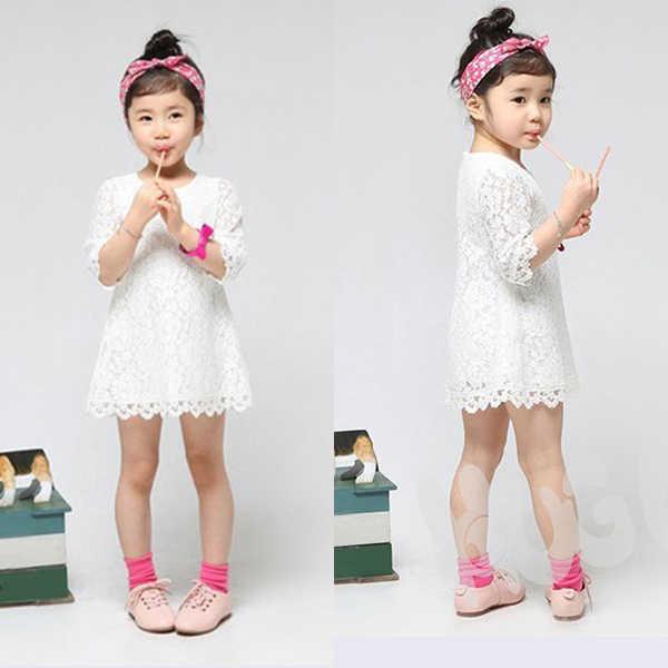 Doce Floral Crianças Flor Do Laço Vestido de Festa Da Princesa vestidos de fiesta para niñas Menina Roupa Do Bebê