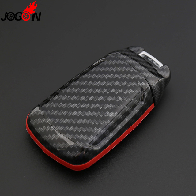 Audi Key Replacement Cost: Smart Remote Fob Key Case Shell Cover Carbon Fiber Look