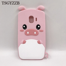 J8 2018 Case Cute Cartoon Cover For Samsung Galaxy J6 Cases Soft Silicone Pig Fashion Phone J4