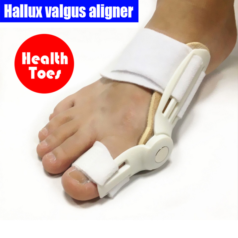 1 Paar = 2 Stücke Fuß Thumb Big Toe Separator Hallux Valgus Aligner Zehen Unterstützung & Corrector Zehen Rehabilitation Füße Pflege Gute Begleiter FüR Kinder Sowie Erwachsene