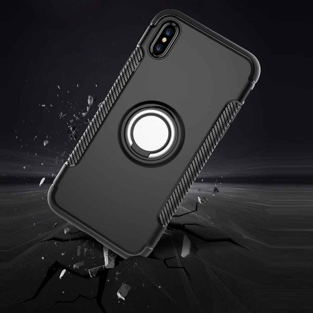 FGHGF <font><b>Cases</b></font> For <font><b>Iphone</b></font> 5 5s SE 6 6S 7 <font><b>8</b></font> Plus Cover Marvel Silicon Hard PC Soft Ring Armor Back Cover For <font><b>Iphone</b></font> X XR XS Max <font><b>Case</b></font> image