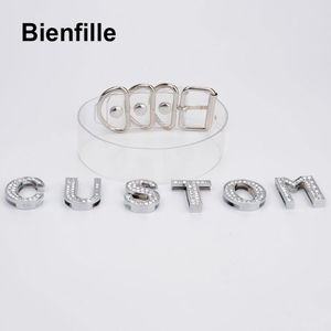 Image 4 - Charm Customized Choker Personalized Choose Unique Name Collar Necklace Crystal Letters Transparent PVC Punk Goth Choker