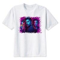 LEQEMAO Preacher T Shirt Men T Shirt Fashion T Shirt O Neck White TShirts For Man