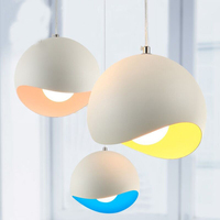 Modern Minimalist Moon Chandelier Personality Creative Aluminum Three Children S Room Lamps Dining Room Bar Bedroom