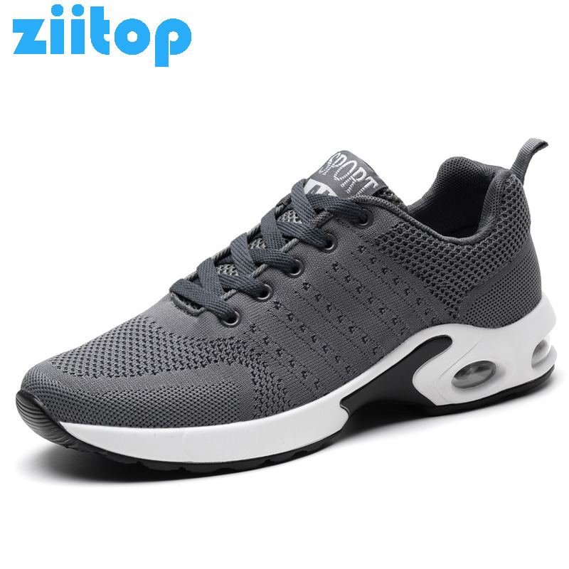 Ziitop Outdoor Sport Shoes Men Air Cushion Running Shoes For Men Outdoor Comfotable Sneakers Men Run Athletic Men's Shoes цена
