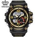 SMAEL Relojes Hombres Militar Del Ejército Para Hombre Reloj LED Digital Deportivo Reloj de Pulsera Masculino Choque Analógico Automático Reloj Hombre Relojes de Regalo