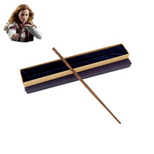 New Metal Core Hermione Granger Magic Wand/ Harri Potter Magical Wand/ High Quality Gift Box Packing(China)