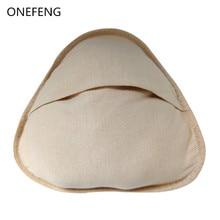Vroče prodajajo mehke in udobne bombažne prsi za mastektomijo Rak dojk Ženske Bombažni boob trikotnik oblike S M L Velikost