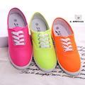 Manresar 2016 Большой Размер 35-42 размер 12 цвета Женщины плоские zapatos mujer квартиры женщины повседневная дешевые холст обувь женская мода обувь