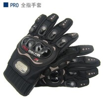 Free shipping, full finger Gloves Protective Gear Performance Black Bike Motorcycle Motorbike moto Racing cycling Gloves M/L/XL