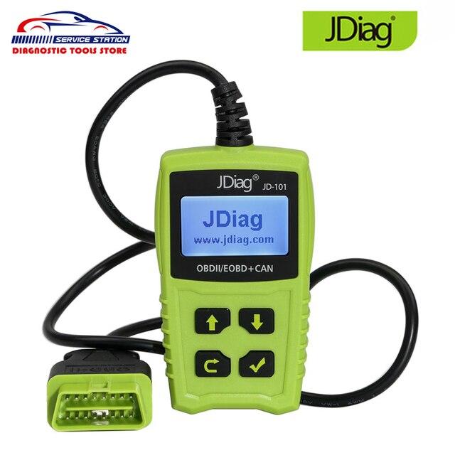 US $21 0 |Original JDiag JD101 OBD OBDII Code Reader Car Scanner Engine  Fault Diagnostic Scan Tool Engine Light Clear Fault Codes JD 101-in Code