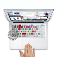 Freeship Silicone Keyboard Skin Protection Sticker For Photoshop Shortcut Keys For 13 15 Inch Macbook Air