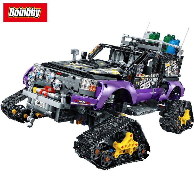 20057 Technic Series Mechanical Ultimate Extreme Adventure Car Building Block Set Bricks Toys 2050Pcs Compatible 42069 2050pcs 2in1 techinic extreme adventure