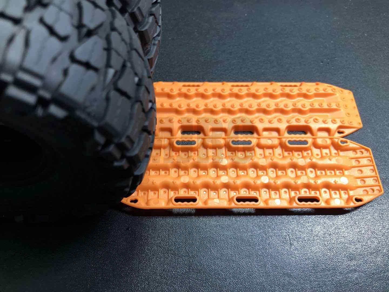 MJRC 1/10 Радиоуправляемый гусеничный автомобиль Traxxas Trx4, защита Бронко, осевая Scx10 90046 90047 D90 D110, противоскользящая доска для скалолазания