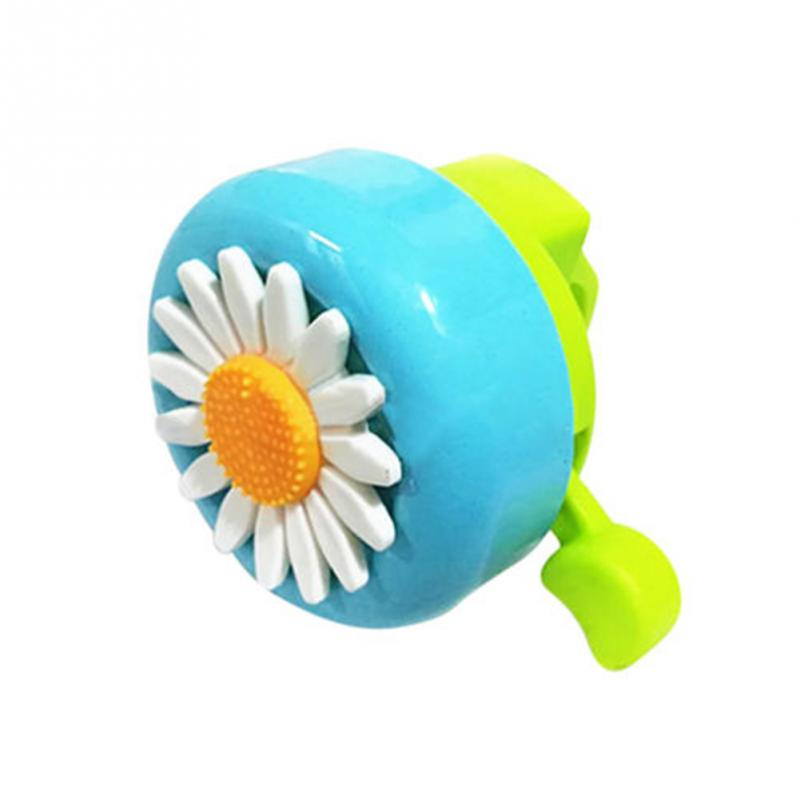 Kids Funny Bicycle Bell Horns Bike Daisy Flower Child Girl/'s Cycling Ring Alarm