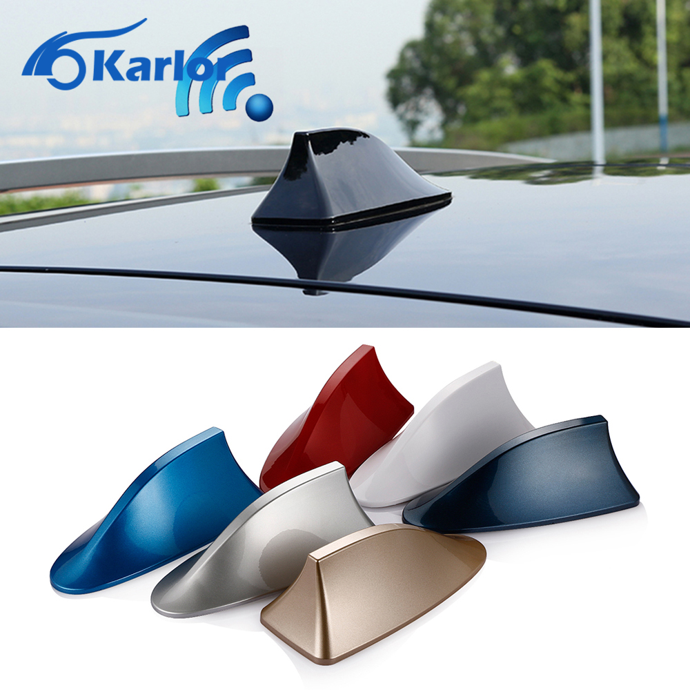 цены Car Radio Shark Fin Antenna Aignal Car-styling for Toyota Corolla Avensis Rav4 Hilux Yaris Prius Auris Verso Camry Accessories