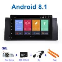 9 Android 8,1 Автомобильный DVD стерео gps для BMW E39 E53 E38 M5 с WiFi BT Радио