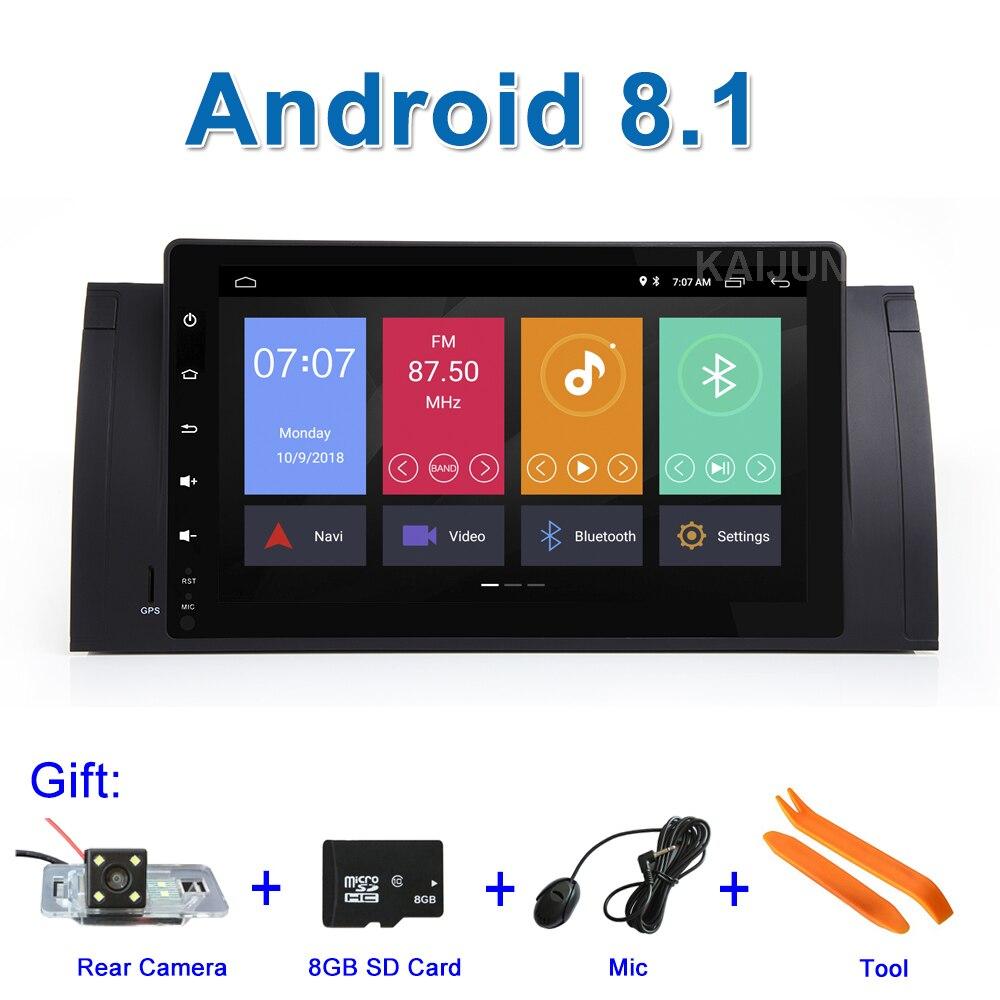 9 Android 8.1 Voiture DVD Stéréo GPS pour BMW E39 E53 E38 M5 avec WiFi BT Radio