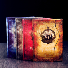Vintage Harry Potter Notebook Diary Memo Notepad Movie Pictures Insert Journal Travel Planners Folios HARRY POTTER Present Gift