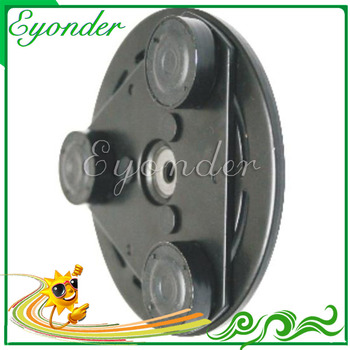AC Air Conditioner Compressor Electromagnetic Clutch Rubber Hub Damper Front Plate Sucker for Hyundai ACCENT I LANTRA II Elantra image