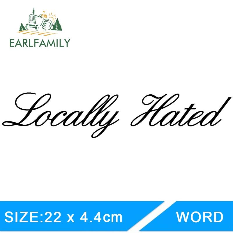 Locally Hated Sticker Decal JDM dapper Stance euro Drift illest fatlace Hoonigan