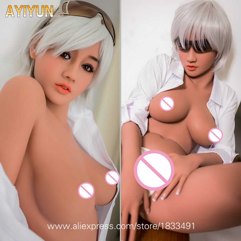 AYIYUN куклы 100% силикона TPE с японским большой груди сексуальные влагалища взрослые полной жизнью полный Размеры кукла любовь Секс игрушки для