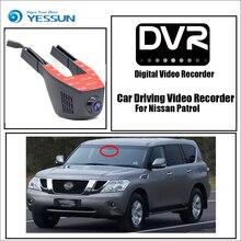 YESSUN for Nissan Patrol Car Driving Video Recorder Wifi DVR Mini Camera Novatek 96658 FHD 1080P Dash Cam Night Vision