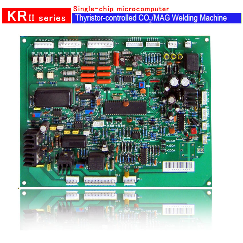Circuit Board if Single chip microcomputer control PCB for CO2/MAG thyristor KR/MIG welding machine more cheaper