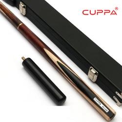 Ausgezeichnete Cuppa 407 Snooker Handgemachte Queue mit Fall 3/4 Queue mit Fall Asche Billard Stick Billard Queue Snooker Stick queue Kit