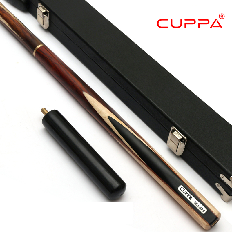 Excellent Cuppa 407 Snooker Handmade Cue With Case 3/4 Cue Stick With Case Ash Billiard Stick Billiard Cue Snooker Stick Cue Kit