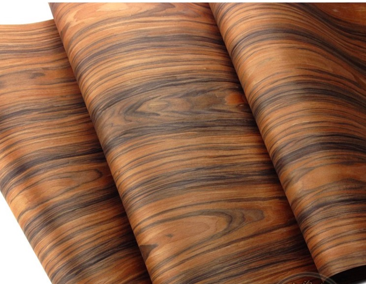 2Pieces/Lot L:2.5Meters Width:60cm Acid Twig Bark Wood Veneer Loudspeaker Shell Veneer(back with nonwoven fabric)