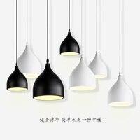 Modern LED pendant lights nordic suspension luminaires dining room fixtures Novelty hanging lighting restaurant suspended lamps