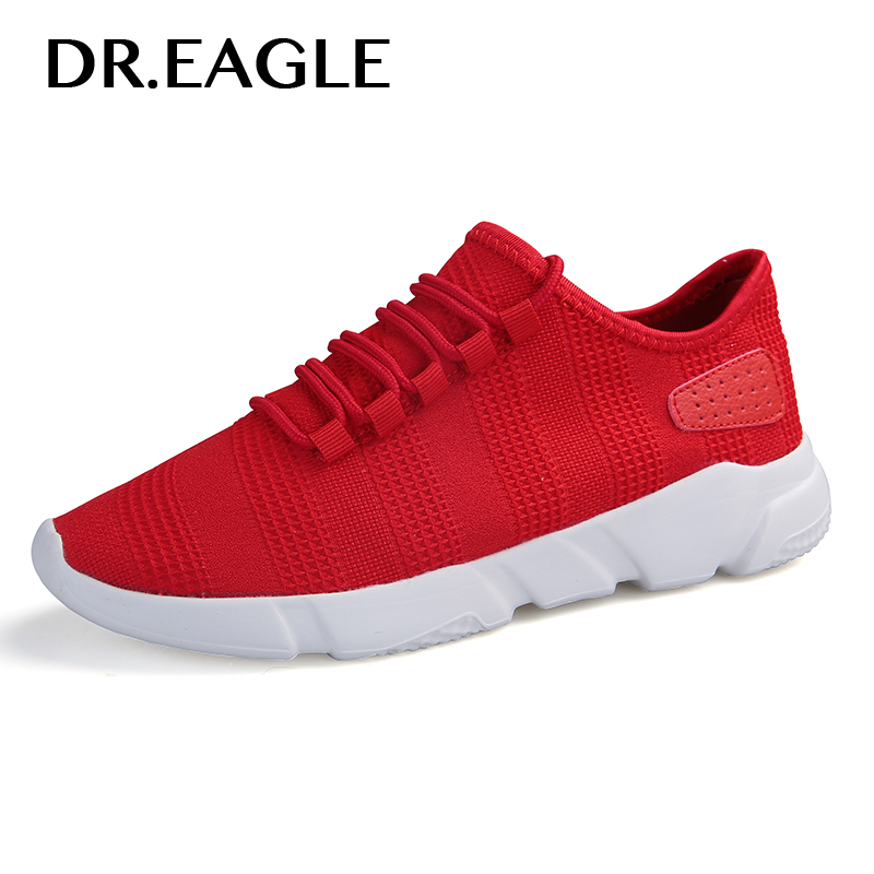 DR.EAGLE Summer Hard Court running shoes mens Breathable mesh sneakers MAN sports shoes Free Run Sports Fitness Walking